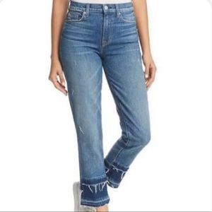 {Hudson} Zoeey Highrise Crop Jeans